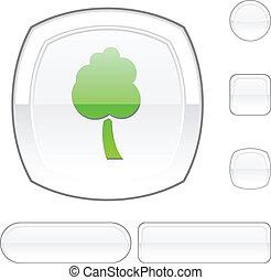 tree white button.