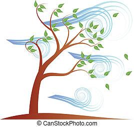 tree wind