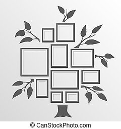 Tree with frames