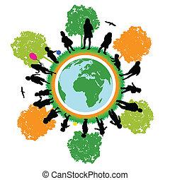 tree world ,children