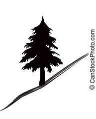 Trees icon - Fir-wood tree