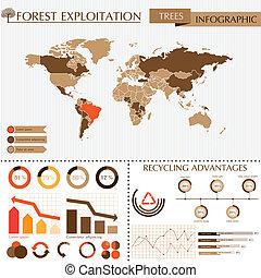 Trees info graphic