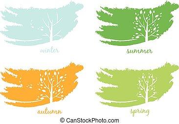 tree.vector, 抽象的, アイコン