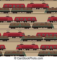 trein, model