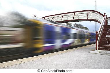 trein, motie