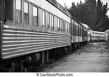 trein, oud