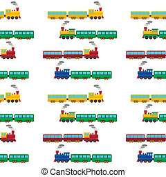 trein, seamless, model