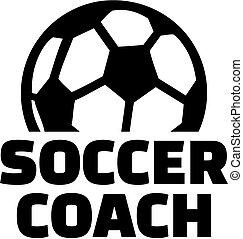 treinador futebol, bola