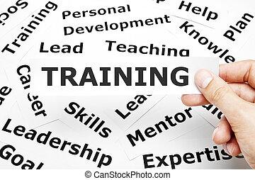 treinamento, conceito
