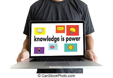 treinamento, conhecimento, poder, estratégia, Trabalho equipe, plano, Educação
