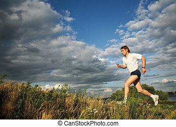 treinamento, desporto