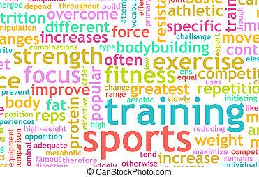 treinamento, esportes