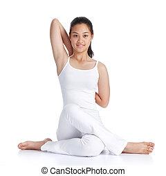 treinamento, ioga
