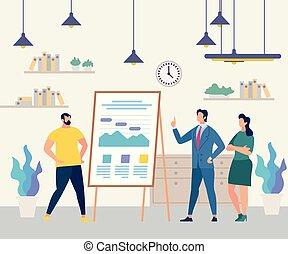 treinamento, pessoas negócio, carta aleta, equipe, seminário
