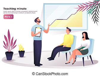 treinamento, pessoas, seminário