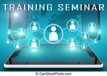 treinamento, seminário