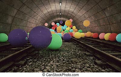 treinar túnel