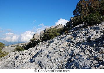 trekking in the gennargentu moutain