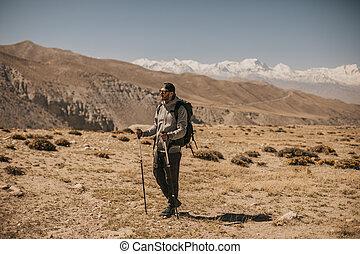 Trekking in Upper mustang - Kingdom of Lo. Nepal - Upper ...