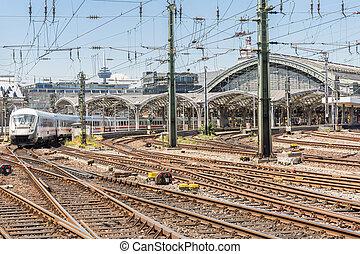 trem, alemanha, comutador