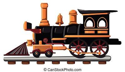 trem, brinquedo