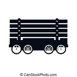 trem carga, vagão