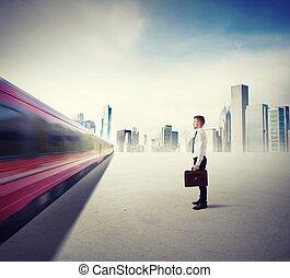 trem, de, oportunidade