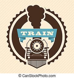 trem, desenho