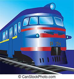 trem, elétrico