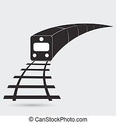 trem, esboço