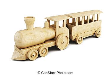 trem madeira, set., 3d.