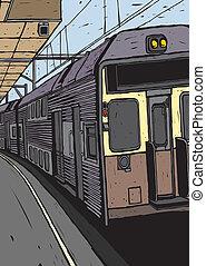 trem, metrô