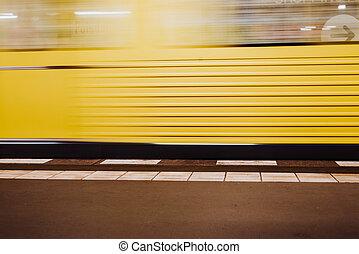 trem metrô