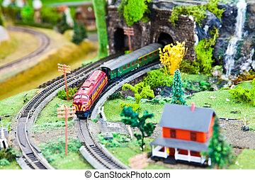 trem, modelo