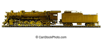 trem modelo, motor vapor