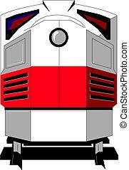 trem, modernos