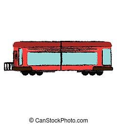 trem, transporte, locomotiva, negócio