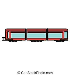trem vagão, transporte ferroviário