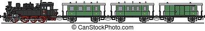 trem, vapor, clássicas
