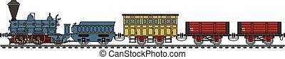 trem, vapor, histórico