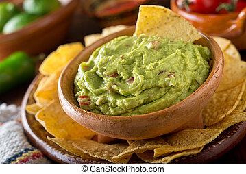 trempette, guacamole