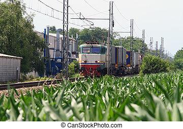 tren carga