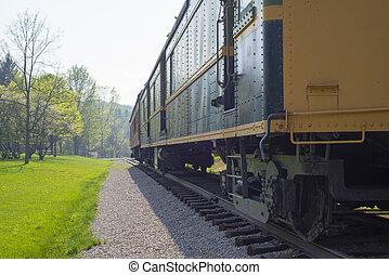 tren del carro, detalle
