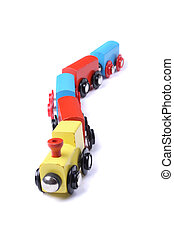 tren, juguete