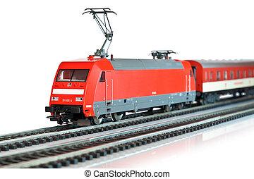 tren miniatura