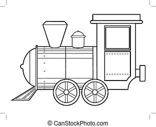 tren, vapor