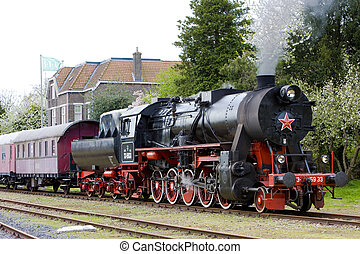 tren vapor, veendam, -, stadskanaal, países bajos