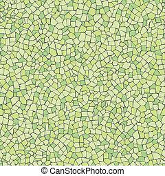 trencadis, verde, padrão