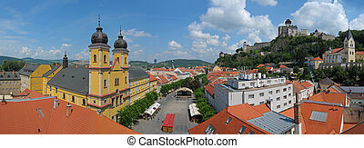 Trencin in Slovakia