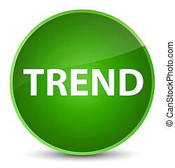 Trend elegant green round button